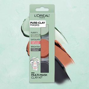 L'Oreal Pure Clay Multi Masking Play Kit